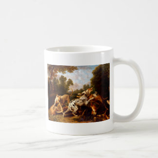 Dogs fighting by Frans Snyders Coffee Mug