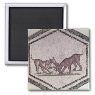 Dogs Fighting for a Bird, Roman, 2nd-3rd century ( Magnet