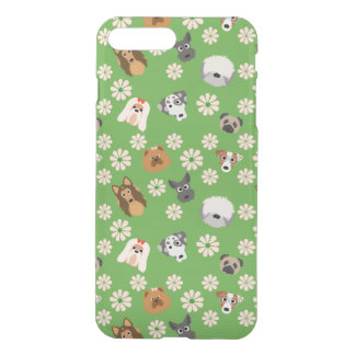 Dogs & Flowers iPhone 7 Plus Case