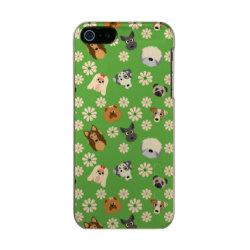Incipio Feather Shine iPhone 5/5s Case with Pomeranian Phone Cases design