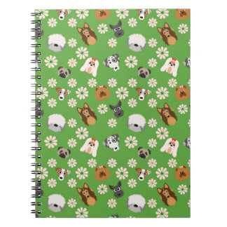Dogs & Flowers Notebook
