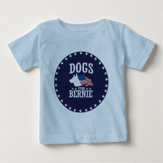 DOGS FOR BERNIE SANDERS BABY T-Shirt
