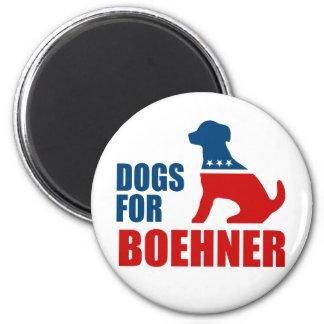 DOGS FOR BOEHNER MAGNET