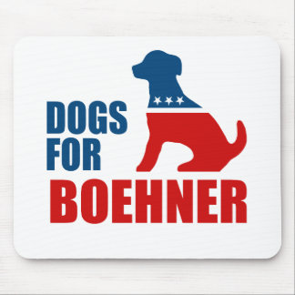 DOGS FOR BOEHNER MOUSE PAD