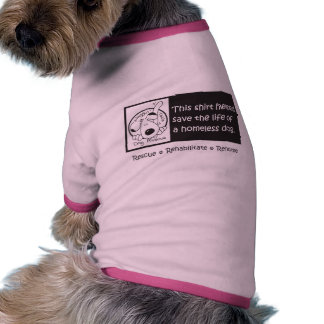Dogs for Homeless Dogs Pet Tee
