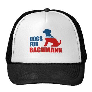 DOGS FOR MICHELE BACHMANN TRUCKER HAT