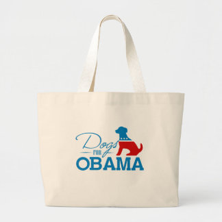 Dogs for Obama - Tote Bag