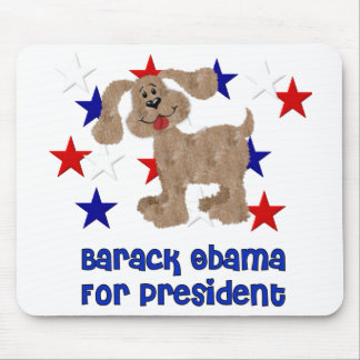 Dogs For Obama Mouse Pad