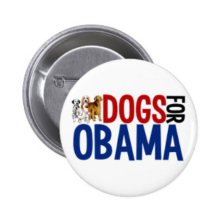 Dogs for Obama Pinback Button
