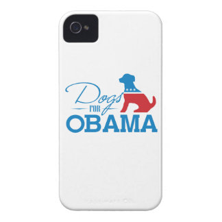 DOGS FOR OBAMA - -.png iPhone 4 Case-Mate Case