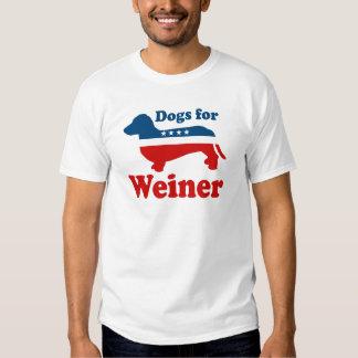 DOGS FOR WEINER SHIRT
