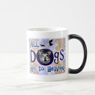 Dogs Go To Heaven2 Magic Mug