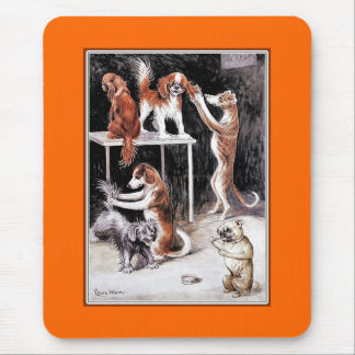 Dogs Grooming Dogs Mouse Pad