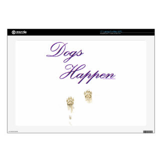 Dogs Happen Decals For Laptops