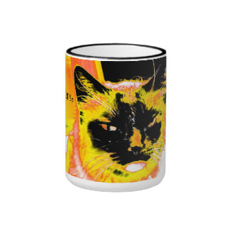 Dogs Have Masters Cats Have Servants Ringer Coffee Mug
