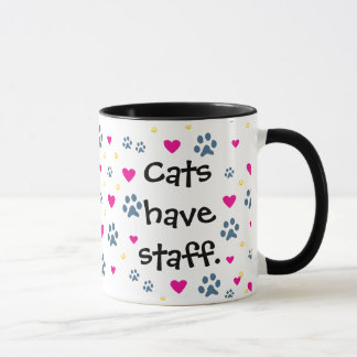 Dogs Have Owners-Cats Have Staff Mug