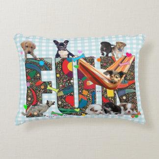 Dogs Having Fun Decorative Pillow