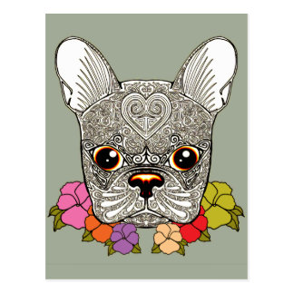 Dog's Head Postcard