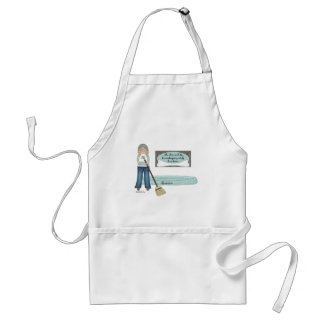 Dog's Housekeeping Staff Adult Apron