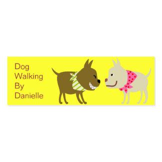 Dogs in Bandana- Pet Care Business Mini Business Card