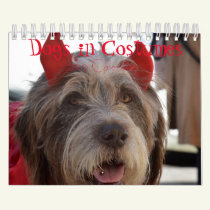 Dogs in Costumes 2019 Calendar