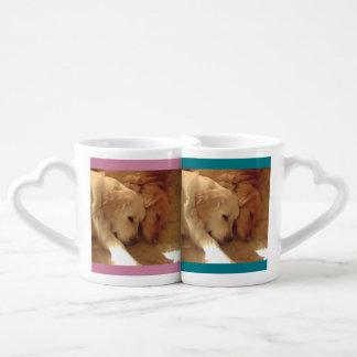 Dogs in Love Coffee Mug Set