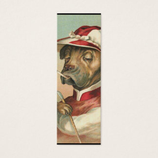 Dogs in Sports Bookmark Mini Business Card