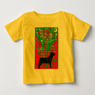 Dogs in the moonlight baby T-Shirt