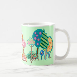 Dogs in the park coffee mug