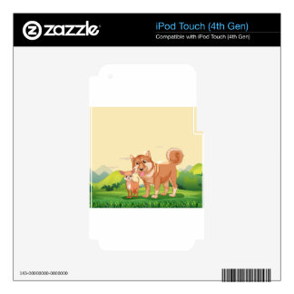 Dogs iPod Touch 4G Decals