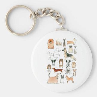 Dogs Keychain