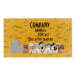dogs life business card