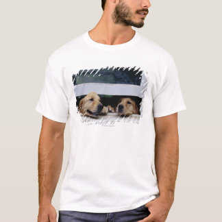 Dogs Looking Out a Window T-Shirt