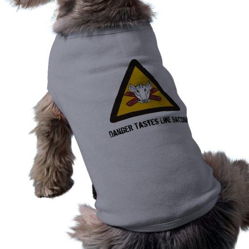 Dogs LOVE Bacon! T-Shirt