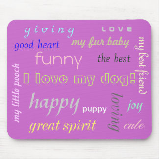 Dogs Lover Mousepad