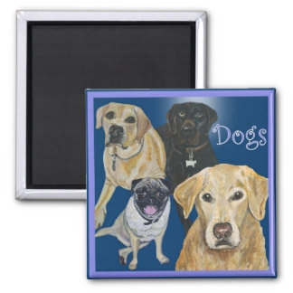 Dogs Magnet