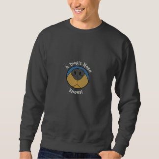 Dog's Nose Embroidered Sweatshirt