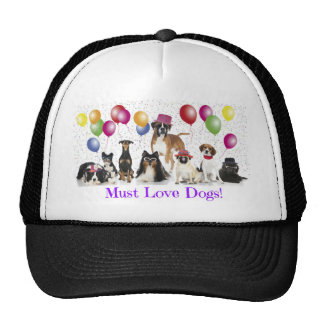 dogs not for profit fundraising trucker hat