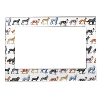 Dogs Of All Kinds Magnetic Frame