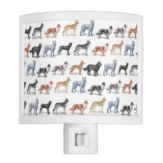 Dogs Of All Kinds Night Light