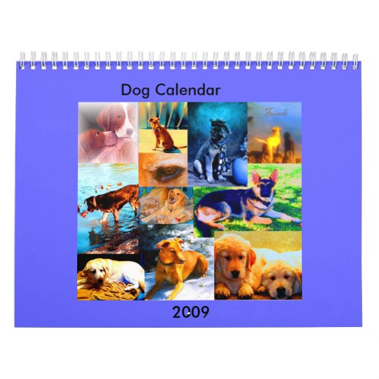 dogs of art, Dog Calendar, 2009 Calendar