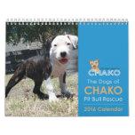 Dogs of Chako Pit Bull Rescue 2016 Calendar