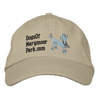 Dogs Of Marymoor Park Adjustable Hat