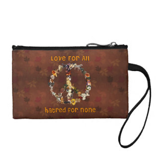 Dogs Of Peace Change Purse