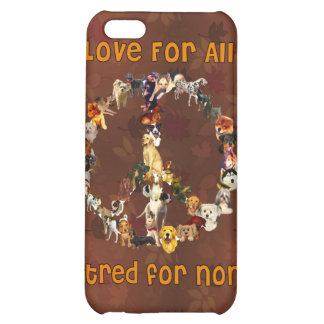 Dogs Of Peace iPhone 5C Cases