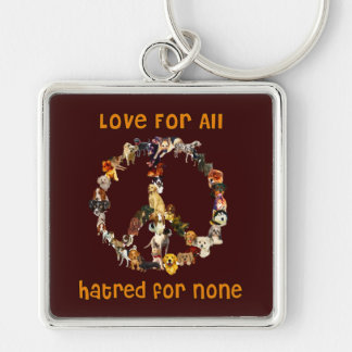 Dogs Of Peace Keychain