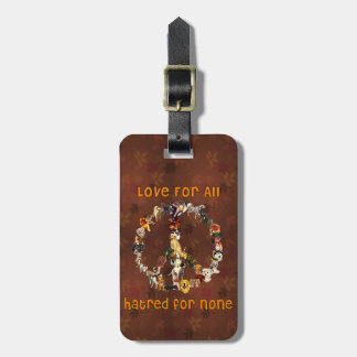 Dogs Of Peace Luggage Tag