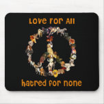 Dogs Of Peace Mouse Mats