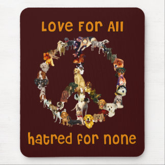 Dogs Of Peace Mouse Pad
