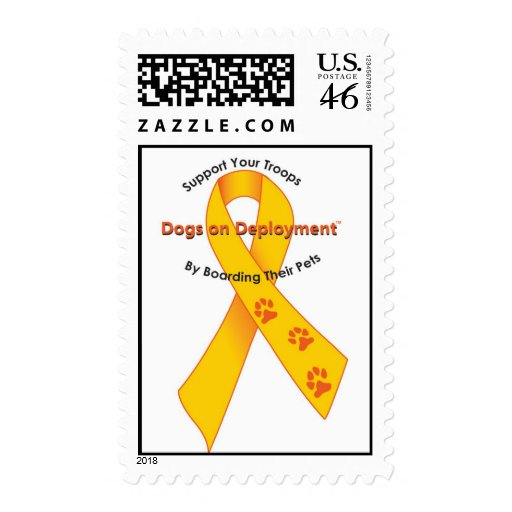 Dogs on Deployment Postage